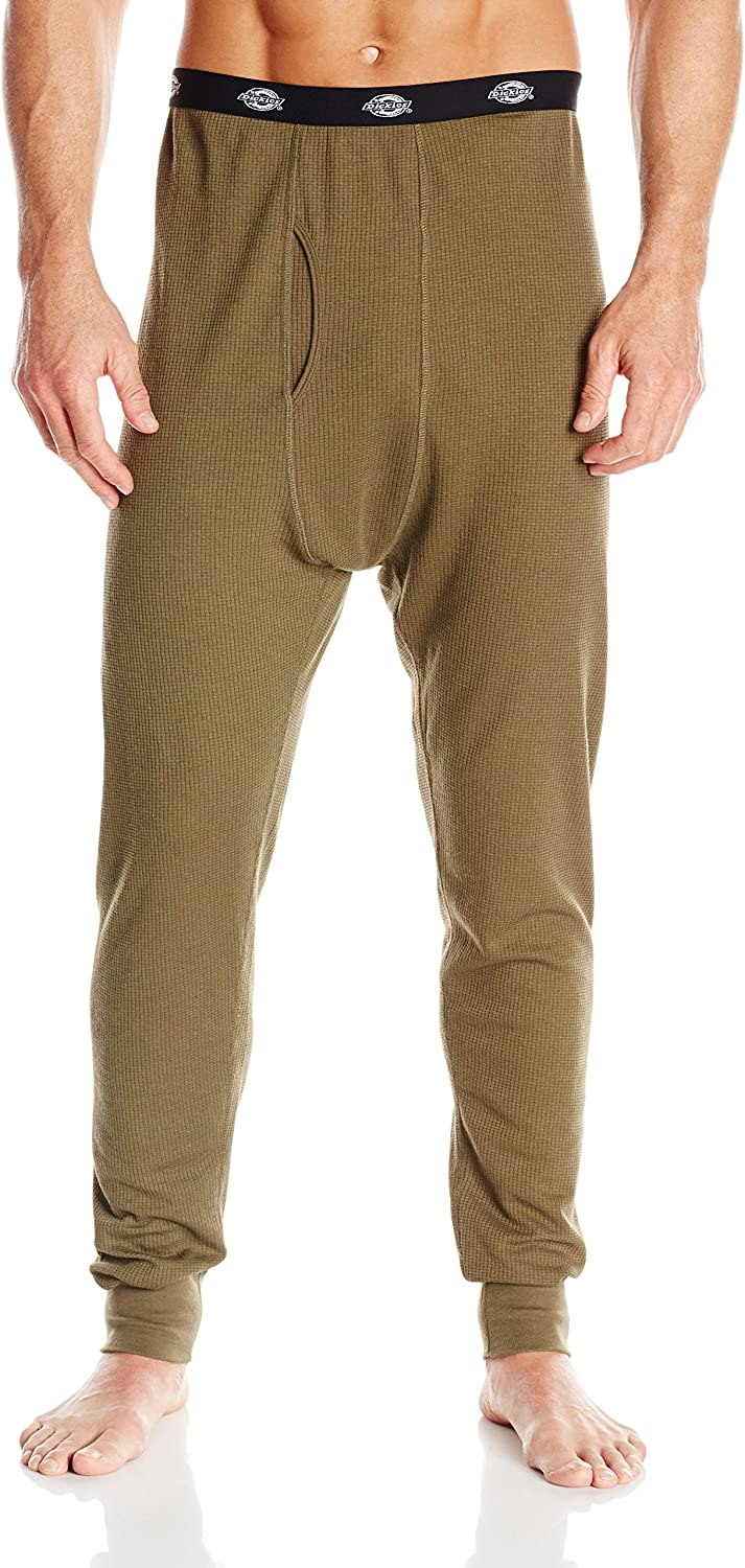 Dickies Mens Midweight Performance Waffle Henley Bottom