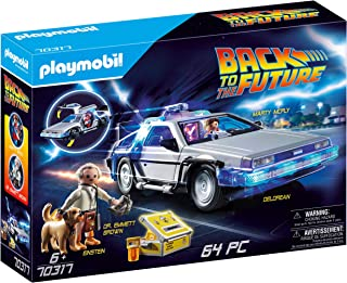 PLAYMOBIL- Back to The Future Delorean con Efectos de Luz, A