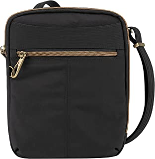 Travelon Travelon Anti-theft Signature Slim Day Bag, Black (black) - 43326-500