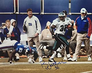 brian westbrook autograph