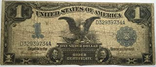 One dollar 1899 series black eagle silver certificate