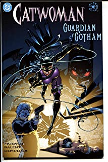 Catwoman: Guardian Of Gotham-Book 2-Doug Moench-TPB-trade