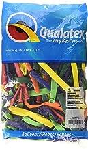 Qualatex 350Q Medium Sized Twisting Balloons, Carnival Assortment - Pack of 50