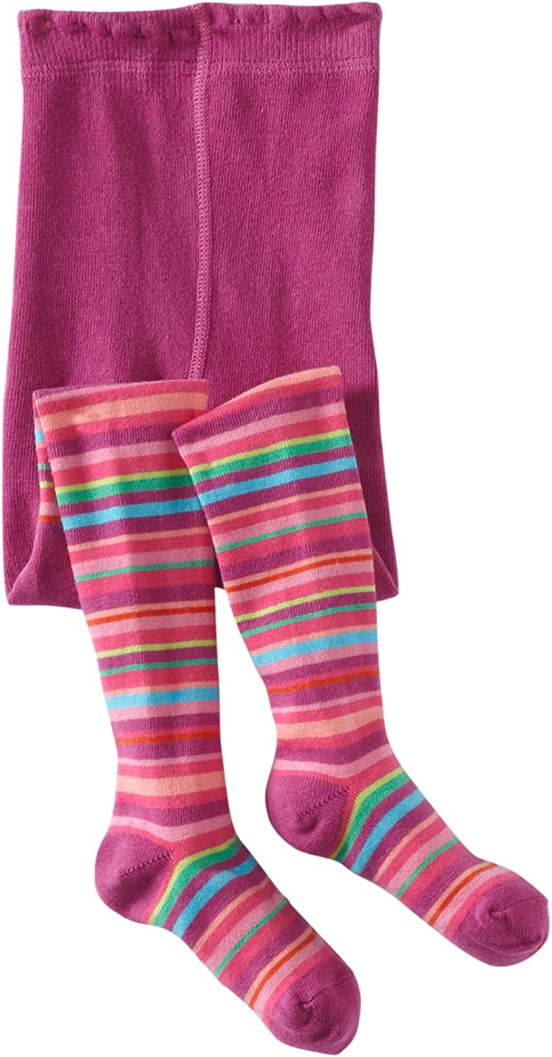 Country Kids Little Girls' Jelly Bean Stripe Tights