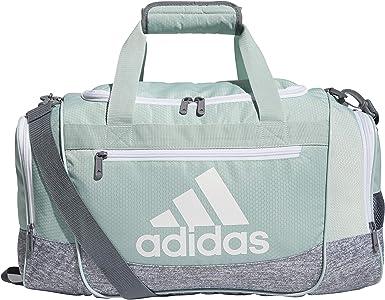Amazon.com: adidas Unisex Defender III Small Duffel Bag, Green ...