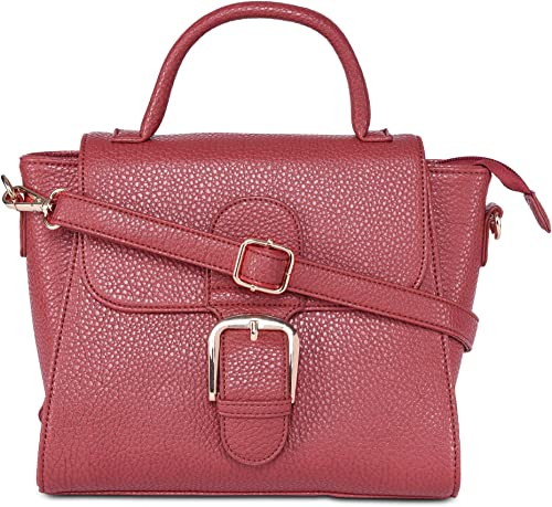 AMediumeo Flap Satchel Women s Handbag Red