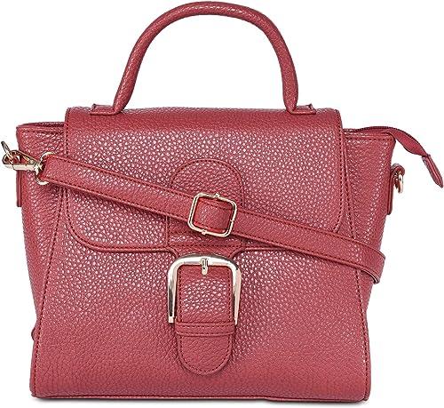 AMediumeo Flap Satchel Women s Handbag Red