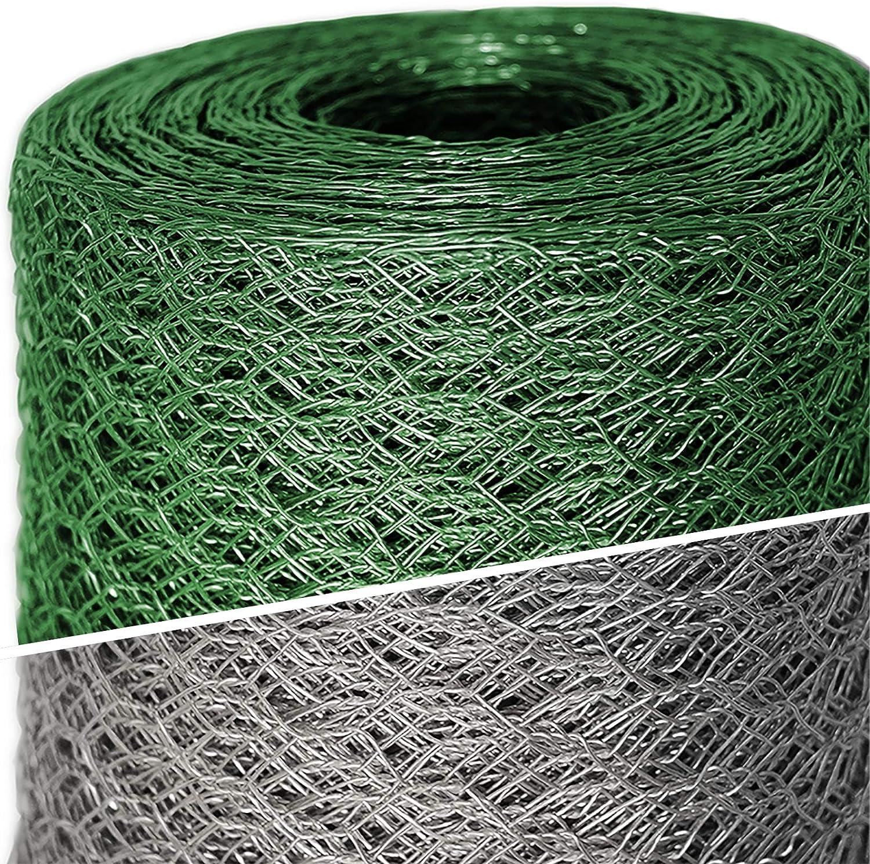 Mammut® alambre Valla/hexagonal de malla | Malla 25mm | Valla de jardín (| Longitud y altura a elegir
