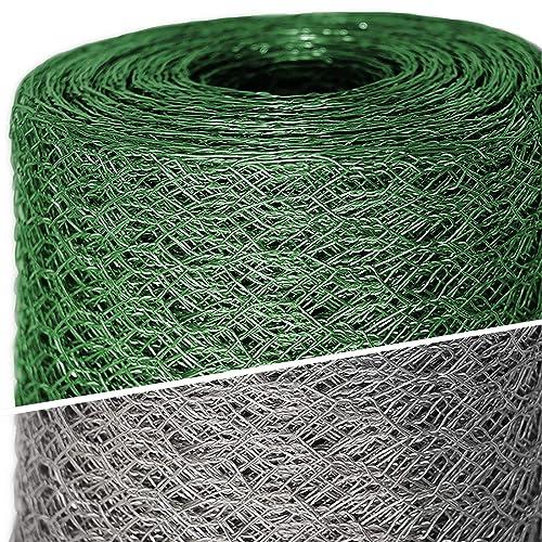 /Hauteur Pieloba Cl/ôture Filet /à volailles Vert/ /Maille 5/cm /Épaisseur 1,2/mm/ 1,80/m M/ètre