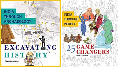 India Focus Picture Book Pack - India through Archeology: Excavating History & India through People: 25 Game Changers (Set...