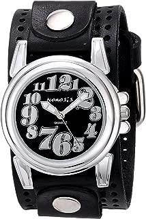 Women's 069PLB-K Trendy Oversized Series Analog Display Japanese Quartz Black Watch