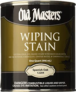 OLD MASTERS 12204 WIP Stain, Spanish Oak