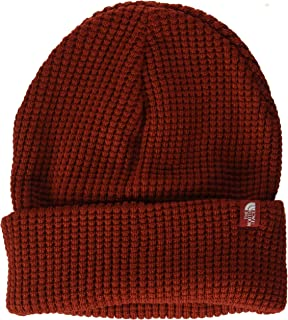 The North Face Women's TNF Waffle Beanie, Caldera Red, One Size
