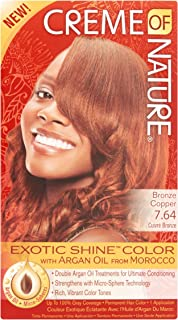 creme of nature hair color bronze copper