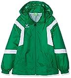 Erima Kinder Classic Team Regenjacke, smaragd/weiß, 140, 105617