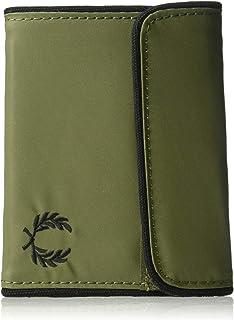 フレッドペリー大人用スポーツナイロン財布、オリーブ1つのサイズ