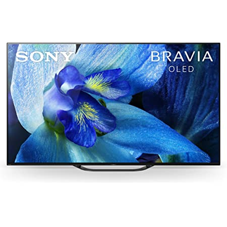 Sony XBR-65A8G 65 Inch TV: BRAVIA OLED 4K Ultra HD Smart TV with HDR and Alexa Compatibility - 2019 Model