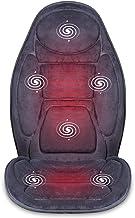 SNAILAX Vibration Massage Seat Cushion with Heat 6 Vibrating Motors and 3 Therapy Heating..