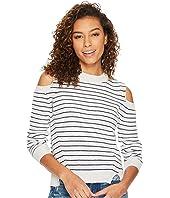 Lucky Brand - Cold Shoulder Sweatshirt