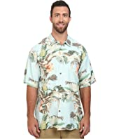 Tommy Bahama Big & Tall - Big & Tall Shut the Frond Door Woven Shirt