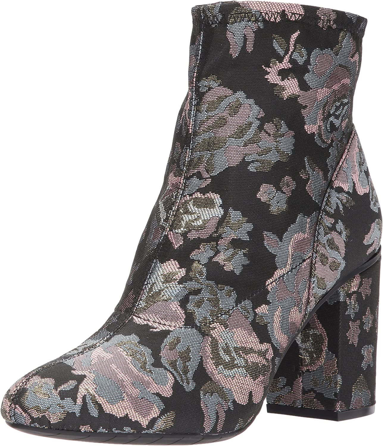 Kenneth Cole REACTION Womens Time for Fun Ankle Bootie with Sock Shaft High Heel Fb Ankle Bootie