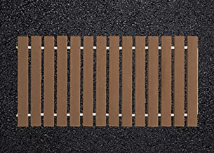 product image for Furniture Barn USA 4 Ft. Wide Roll-up Camp Walkway EverGrain Decking - Brown Weatherwood - 8 Ft. Length
