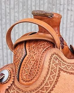 big horn synthetic western saddle