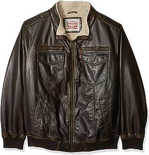 fdf638dac Amazon.com: Big & Tall - Leather & Faux Leather / Jackets & Coats ...