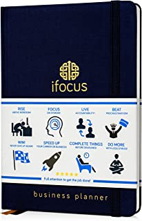 Business Planner Undated for Entrepreneurs! Focus Project Notebook for Productivity! Best Daily Weekly Self Organizer Plan... photo