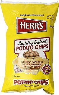 Herr's Lightly Salted Potato Chips, 9.5 Oz