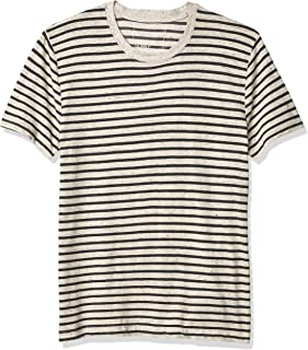 Splendid Mills Men's Redwood Jersey Stripe Slim Fit T-Shirt