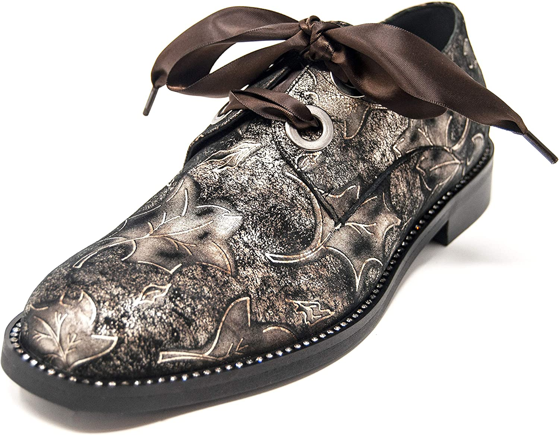 Per Fidem Womens Gia Oxford shoes Chocolate