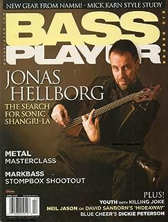 Bass Player April 2011 Magazine JONAS HELLBORG: THE SEARCH FOR SONIC SHANGRI-LA New Gear From Namm MICK KARN STYLE STUDY Metal Masterclass