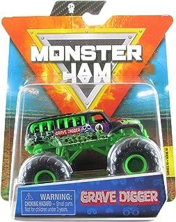 Monster Jam 2020 Spin Master 1:64 Diecast Monster Truck with Wristband: Ride Trucks Grave Digger