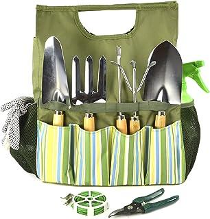 comprar comparacion Plant Theatre Bolsa Esencial de Herramientas de jardín - Incluye Herramientas - Regalo para Jardinero