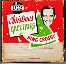 Christmas Greetings Bing Crosby with the Andrews Sisters, 4 X 45 RPM