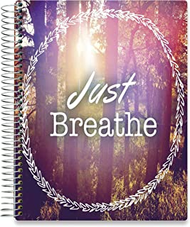 Tools4Wisdom 2020 Planner October 2019-2020 - 8.5 x 11 Just Breathe Hardcover - Daily Weekly Monthly Planner - Dated Oct November December 2019 Plus 2020 Calendar Year