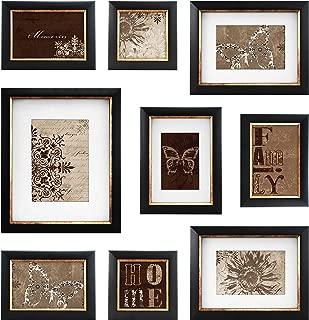 MCS 9pc Frame Set with Usable Artwork, Bronze Finish (49983)