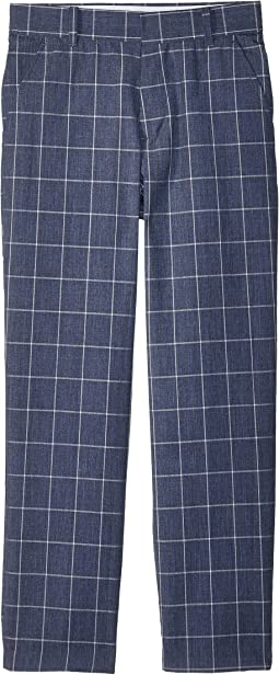 Tommy Hilfiger Kids - Straited Windowpane Pants (Big Kids)