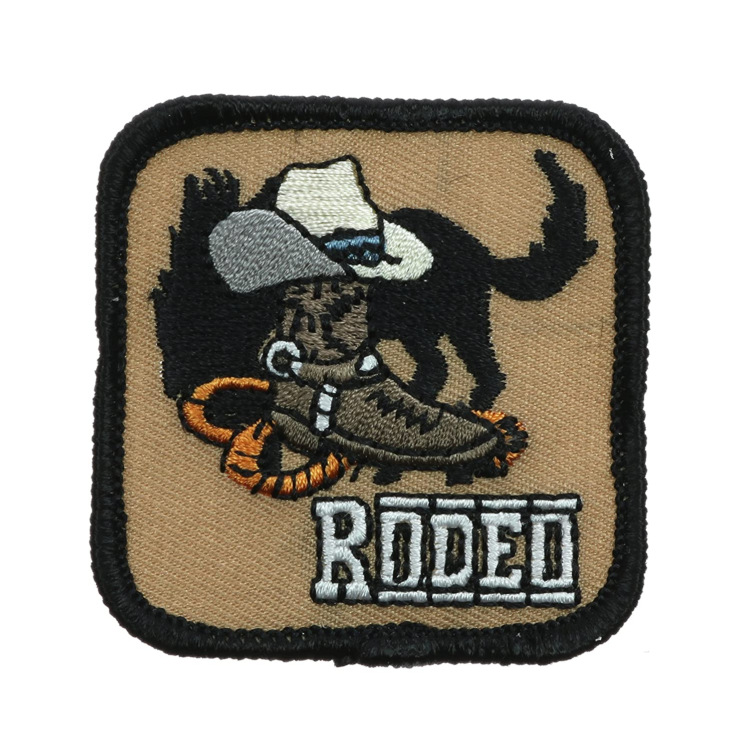 Rodeo Bronc Hat Boots 2 inch patch Ava0511