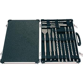 17 PC en Metal Case Makita D-21200 Foret SDS PLUS et burins Set