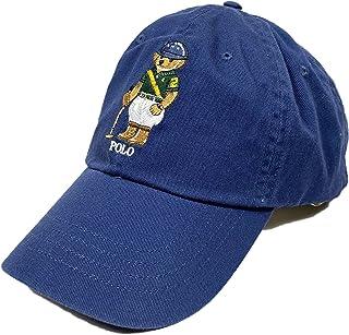 (ポロラルフローレン)POLO RALPH LAUREN メンズ Men's キャップ Polo Bear Chino Ball Cap ネイビー Boathouse Navy [並行輸入品]