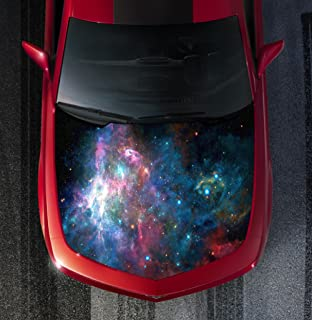 Sign Factory H118 Galaxy - Hood WRAP - Wraps Decal Sticker Tint Vinyl Image Graphic Carbon Print Laminated Printed Fiber 2