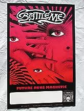 2014 Battleme Future Runs Magnetic Album Poster 2 Sided Art