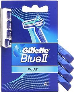 Gillette – Blue II Plus, jednorazowe golarki, 4 sztuki