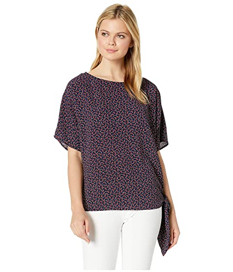 e8b384fe92 MICHAEL Michael Kors Paisley Side Tie Top at Zappos.com