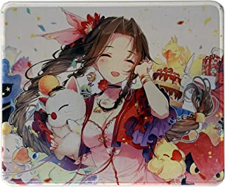 Aerith Mouse Pad Anime 12x10 inches Custom Mousepad Gaming mat Beauty Final Fantasy VII 7 Remake