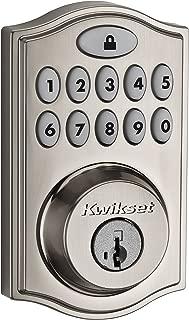 Kwikset SmartCode 914 Series Zigbee Deadbolt, Satin Nickel (99140-008)