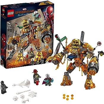 LEGOMarvel Spider-Man 76128 - Far From Home Duell mit Molten Man, Bauset