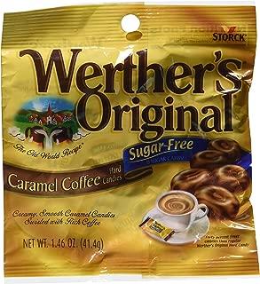 Werther's Original - Sugar Free - Caramel Coffee Hard Candies (Pack of 3) (3 bags)